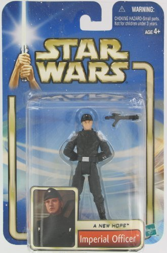 Star Wars A New Hope Imperial Officer Brown Hair Variant