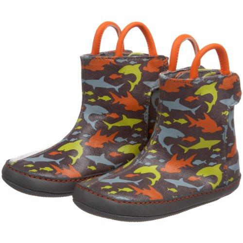 Robeez Mini Shoez Kids' Feeding Frenzy Rain Boot