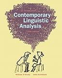 Contemporary Linguistics Analysis (0321153944) by O'Grady, William