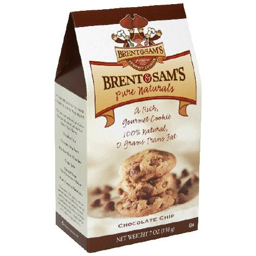 Brent & Sam's Xtra Chocolate Chip Cookie, 7-Ounce (Pack of 12)