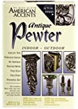 Rust-Oleum 7983955 2-Part Decorative Finishes Half Pint and Spray Kit, Antique Pewter