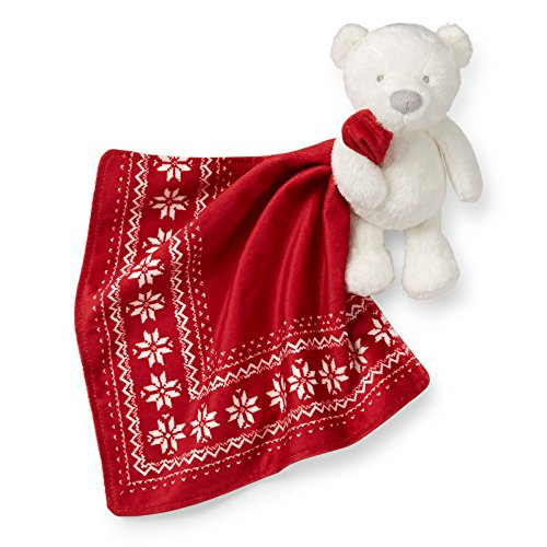 Carter's Holiday Bear Security Blanket
