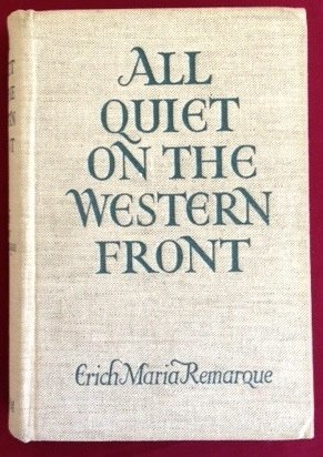 analysis of all quiet on the western front a novel by erich maria remarque All quiet on the western front erich maria remarque table of contents plot  overview summary & analysis chapter one  how to write literary analysis.