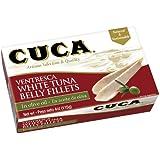 """ Cuca"" Ventresca White Tuna in Olive Oil 4 Oz (Canned)"
