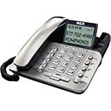1 - 2-Line Corded Desktop Phone With Caller ID 2-line Corded Phone Full Speakerphone Capabilities 1223-1BSGA