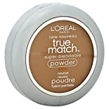 Loreal True Match Super-Blendable Powder, Neutral, Classic Tan N7, 0.33 oz (9.5 g)