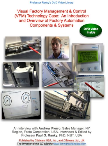 Visual Factory Management & Control (VFM) Technology Case:  An Introduction and Overview of Factory Automation Components & Systems
