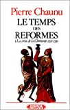 img - for Temps des r formes T1 book / textbook / text book