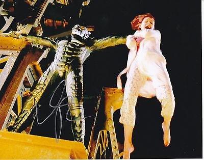 Willem Dafoe Signed Spider Man 8X10 Photo W/Coa Green Goblin Norman Os