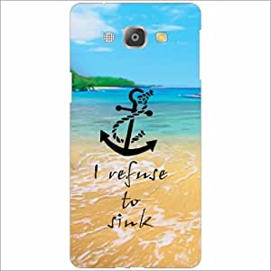 Samsung Galaxy A8 Back Cover - Silicon I Refuse To Sink Designer Cases