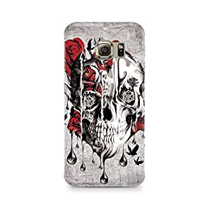 Mobicture Skull Abstract Premium Printed Case For Samsung S6 Edge Plus
