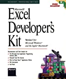 Microsoft Excel Developer's Kit: Version 5 for Microsoft Windows and the Apple Macintosh (Microsoft Professional Reference) (1556156324) by Microsoft Press