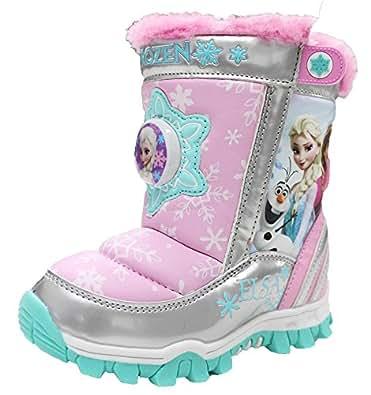Amazon.com: Disney Frozen Elsa Anna Girl's Winter Snow
