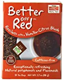 Now Foods, Real Tea, Better Off Red, Rooibos with Vanilla-Citrus Blush, Caffeine-Free, 24 Tea Bags, 1.7 oz (48 g)