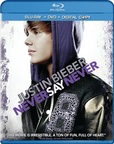 Cover art for  Justin Bieber: Never Say Never (Two-Disc DVD/Blu-ray Combo)