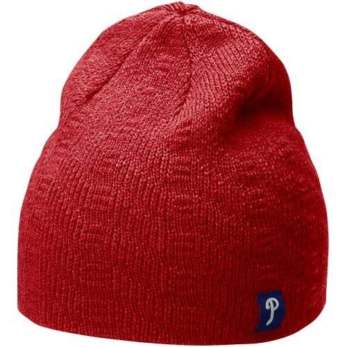 phillies hat logo. Nike Philadelphia Phillies Ladies Red Knit Beanie