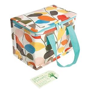 Vintage Ivy Design Recycled Foil Lined Lunch Bag