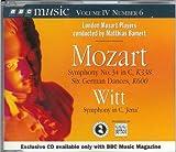 Mozart Symphony No.34 in C, K338 Six German Dances; Witt