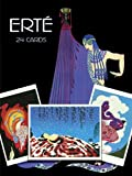 Erte Postcards in Full Color: 24 Ready-to-Mail Postcards (Dover Postcards)