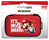 Hori Officially Licensed Mario Hard Pouch - Red (Nintendo 3DS)