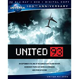 United 93 [Blu-ray + DVD + Digital Copy] (Universal's 100th Anniversary)