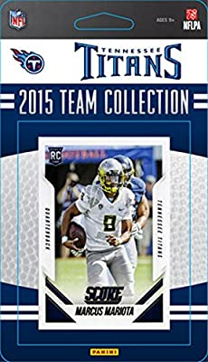 Tennessee Titans 2015 Score Factory Sealed NFL Football 14 Card Team Set Featuring Marcus Mariota Rookie Card Plus