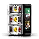 STUFF4 Phone Case Cover for HTC Desire 610 Bells Design Slot Machine Collection
