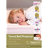 Hippychick Tencel Fitted Mattress Protector Cot-Bed 70x140cmby Hippychick