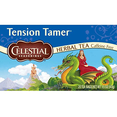 Celestial Seasonings Tension Tamer Herbal Tea, 20 Count (Pack of 6) (New Mexico Tea Company compare prices)