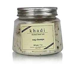 Khadi Herbal Bath Salt Nagchampa With Aloe vera & Dead sea salt 200g