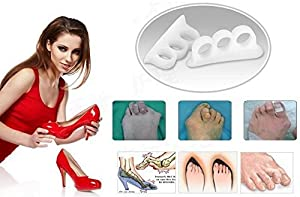 Bunion Corrector & Bunion Relief Protector Sleeves Kit - Treat Pain in Hallux Valgus, Big Toe Joint, Hammer Toe, Toe Separators Spacers Straighteners splint Aid surgery treatment(10 pieces)