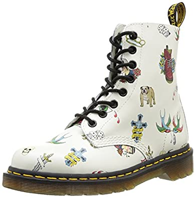 Dr. Martens Men's PASCAL White Boots 6 M UK, 7M