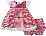 So La Vita Baby-girls Infant Pin Tuck Yoke Dress