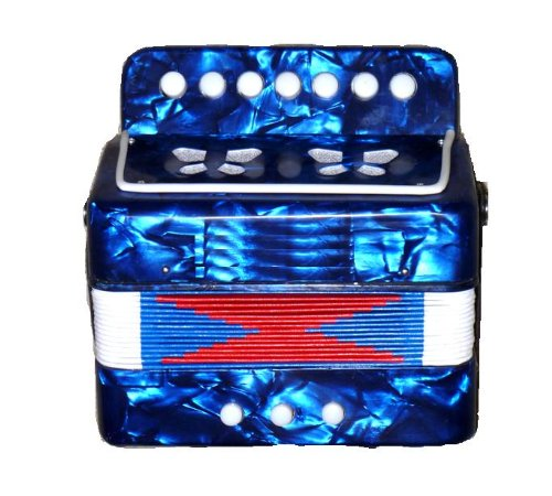 Kids Toy Accordion for Children ages 3 and up - Blue