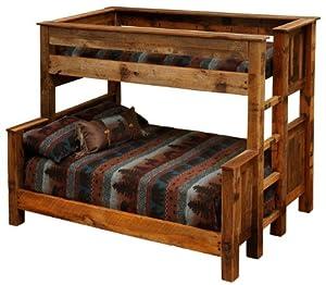 barnwood beds twin over queen barnwood bunk beds kitchen dining. Black Bedroom Furniture Sets. Home Design Ideas