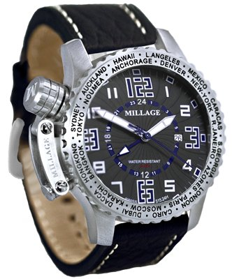 Millage Moscow Collection - BLK-BLU-BLK-LB
