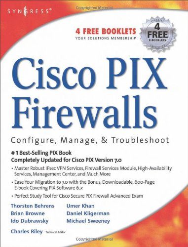 Cisco PIX Firewalls: configure / manage / troubleshoot