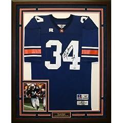 Bo Jackson Autographed & Framed Auburn Jersey