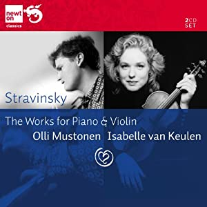 Stravinsky: The Works for Piano & Violin