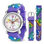 Bling Jewelry Purple Analog Roller Sk...