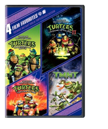 Teenage Mutant Ninja Turtles: Four Film Favorites (Teenage Mutant Ninja Turtles / Teenage Mutant Ninja Turtles II / Teenage Mutant Ninja Turtles III / TMNT)