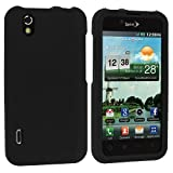 Black Snap-On Hard Skin Case Cover for LG Optimus Black P970 / LS855 / LG B