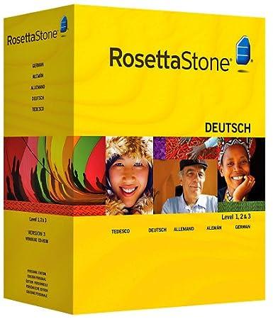 Rosetta Stone : Allemand Niveau 1, 2 & 3 avec Audio Companion
