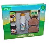 Tanner 0.945,3 - Desayuno Set Tiendas y accesorios de juguetes de madera, 6 piezas