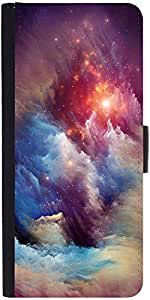 Snoogg Universe Stormdesigner Protective Flip Case Cover For Samsung Galaxy M...