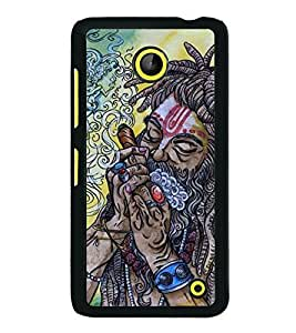 Aart Designer Luxurious Back Covers for Nokia Lumia 630 + Flexible Portable Thumb OK Stand by Aart Store.