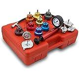 14 Pcs Radiator Pressure Tester and Vacuum Type Cooling System Kit