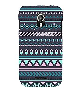 Tribal India Pattern Cute Fashion 3D Hard Polycarbonate Designer Back Case Cover for Micromax Canvas Magnus A117 :: Micromax A117 Canvas Magnus