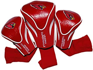 NFL Arizona Cardinals 3 Pack Contour Fit Headcover by Team Golf