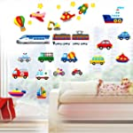Yesurprise New PVC 3D Colorful Car Tr...